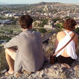 Overlooking Tblisi